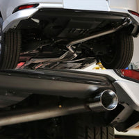 "3"" Double Wall Muffler Tip Exhaust Catback System For 16 Scion iM 2ZR-FAE E180-Performance-BuildFastCar"