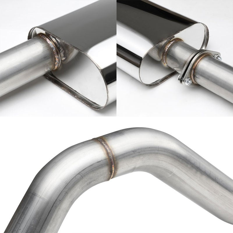 Exhaust Catback System (Stainless Steel) For 96-99 Chevrolet Tahoe 5.7L GMT400-Performance-BuildFastCar