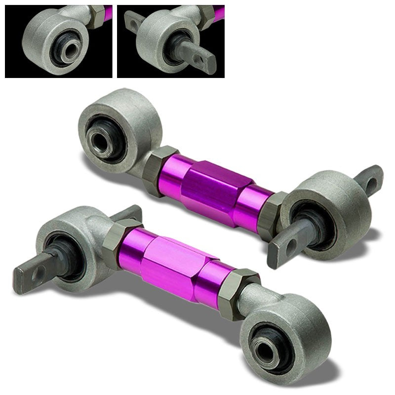 Purple Adjust Steel Rear Camber Control Arm For 88-00 Civic EE/EF/EG/EH/EJ/DC-Suspension-BuildFastCar