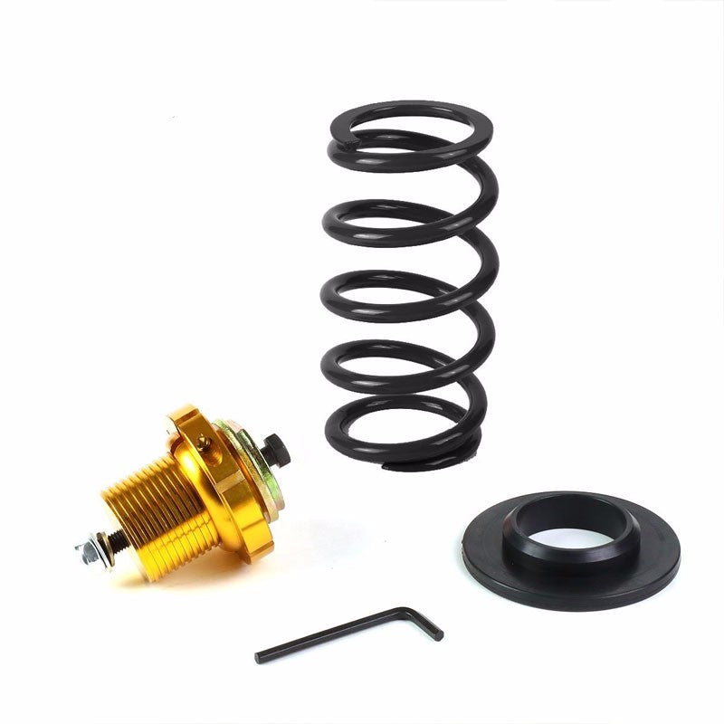"Front/Rear 1""-4"" Adjust Black Suspension Lowering Spring+Perch For 06-11 Civic-Suspension-BuildFastCar"