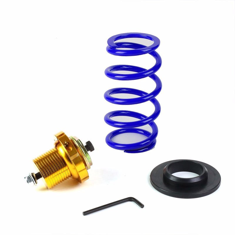 "Front/Rear 1""-4"" Adjust Blue Suspension Lowering Spring+Perch For 06-11 Civic-Suspension-BuildFastCar"