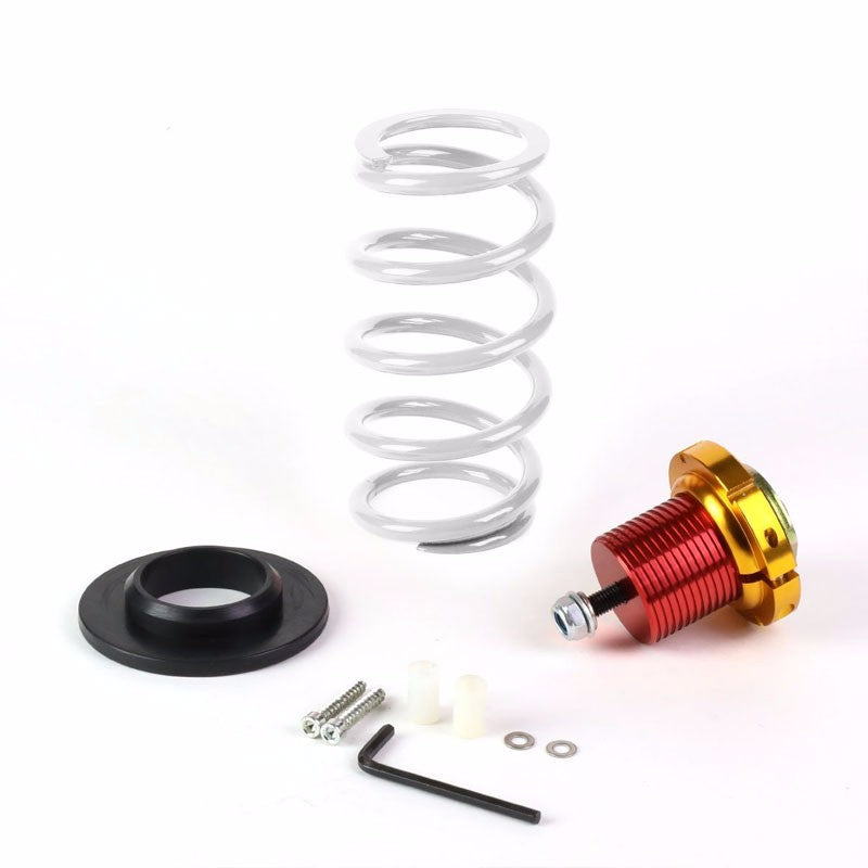 "Front/Rear 1""-4"" Adjust White Suspension Lowering Spring+Perch For 12-15 Civic-Suspension-BuildFastCar"