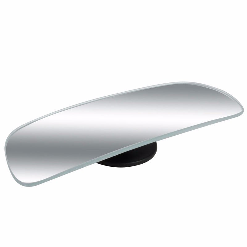 2x Rectangular Swivel Stick-On Car Wide Angle Convex Rear Blind Spot Side Mirror-Exterior-BuildFastCar