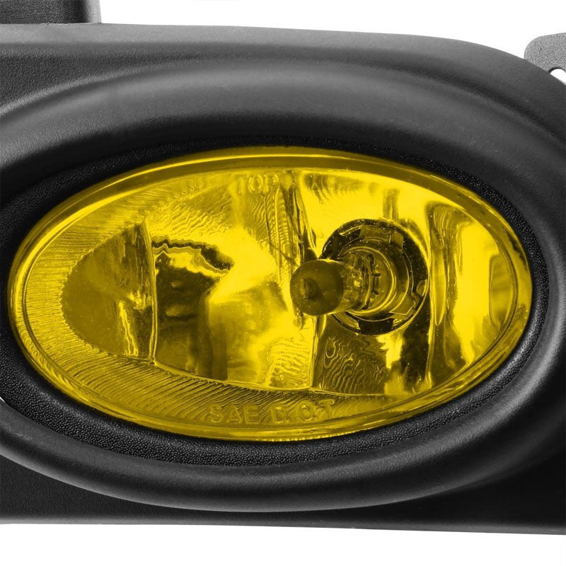Amber Lens Housing Driving/Bumper Fog Light+Wiring For Honda 06-08 Civic Sedan-Exterior-BuildFastCar