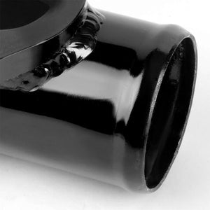 "Type-S/RS Turbo 30PSI Blow Off Valve BOV PP+Black 2.5"" Flange Adapter Curve Pipe-Performance-BuildFastCar"