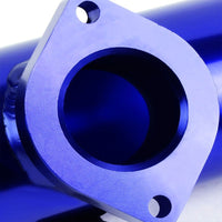 "Type-S Anodized Turbo Adjust Blow Off Valve BOV SL+Blue 2.5"" Flange Adapt Pipe-Performance-BuildFastCar"
