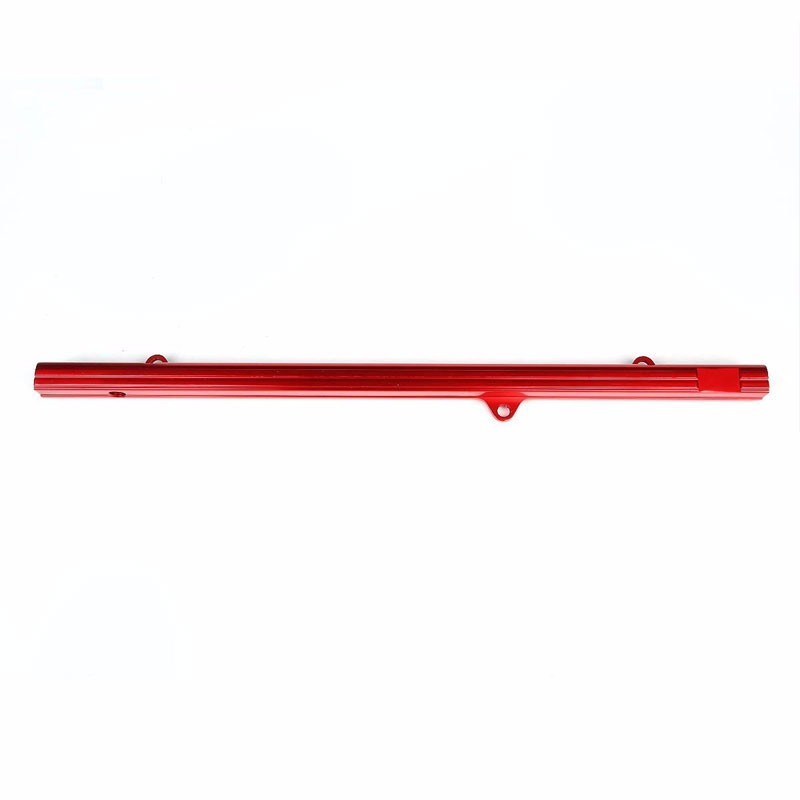 Red Aluminum Fuel Injector Rail Kit For Toyota 93-98 Supra MK4/2JZ-GTE JZA80-Performance-BuildFastCar