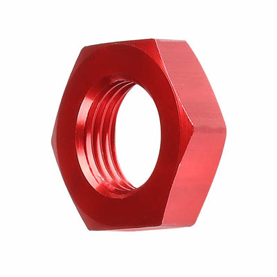 Red Aluminum Sealing Bulkhead Seal Plug Oil/Fuel Hose Nut 6AN Fitting Adapter-Performance-BuildFastCar