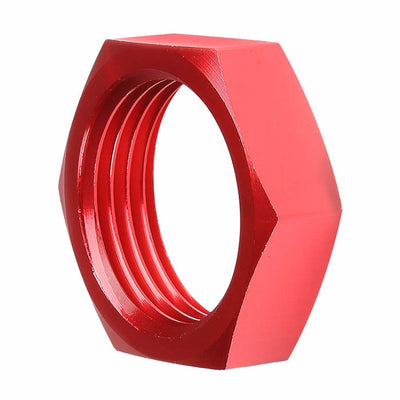 Red Aluminum Sealing Bulkhead Seal Plug Oil/Fuel Hose Nut 10AN Fitting Adapter-Performance-BuildFastCar