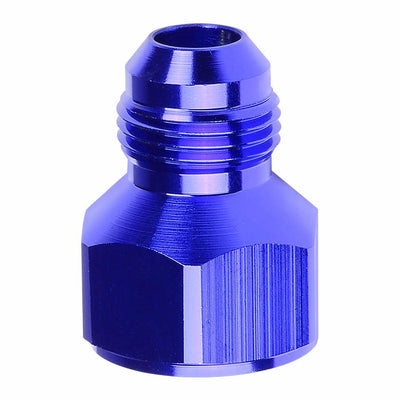 Blue Aluminum 16AN Female Flare-12AN Male Reducer Oil/Fuel Hose Fitting Adaptor-Performance-BuildFastCar