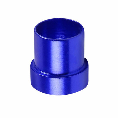 Blue Aluminum Male Hard Steel Tubing Sleeve Oil/Fuel 6AN AN-6 Fitting Adapter-Performance-BuildFastCar