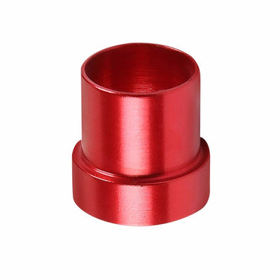Red Aluminum Male Hard Steel Tubing Sleeve Oil/Fuel 8AN AN-8 Fitting Adapter-Performance-BuildFastCar