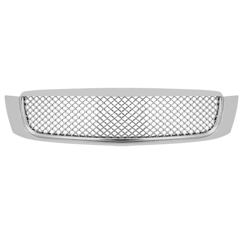 Chrome Diamond Mesh Style Front Grille Grill For Cadillac 00-05 DeVille 4.6L-Exterior-BuildFastCar