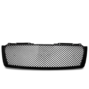 Black Diamond Mesh Style Front Grille For 07-14 Avalanche/Tahoe/Suburban V8-Exterior-BuildFastCar