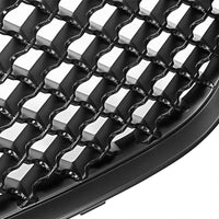 Black Diamond Mesh Style Front Grille For 00-05 Impala Base/LS/SS V6 3.4L/3.8L-Exterior-BuildFastCar
