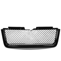 Black Diamond Mesh Style Front Grille For 06-09 Trailblazer LT 4.2L/5.3L GMT360-Exterior-BuildFastCar