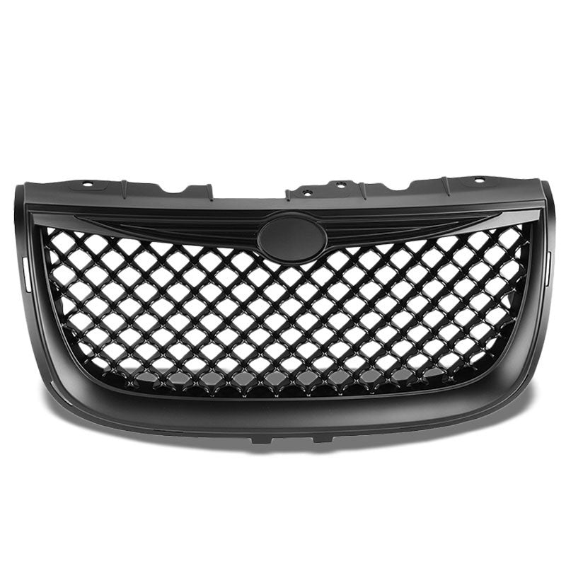 Black Diamond Mesh Style Front Grille Grill For Chrysler 99-04 300M 3.5L SOHC-Exterior-BuildFastCar