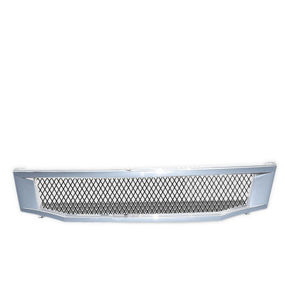 Chrome Type-R Mesh Style Front Grille For 08-10 Accord CP2/CP3 Sedan 2.4L/3.5L-Exterior-BuildFastCar