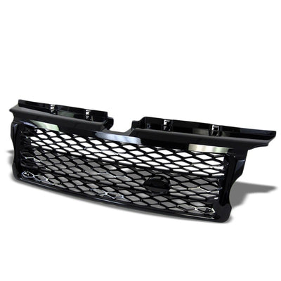 Black Diamond Mesh Style Replacement Grille For 06-09 Range Rover Sport L320 V8-Exterior-BuildFastCar