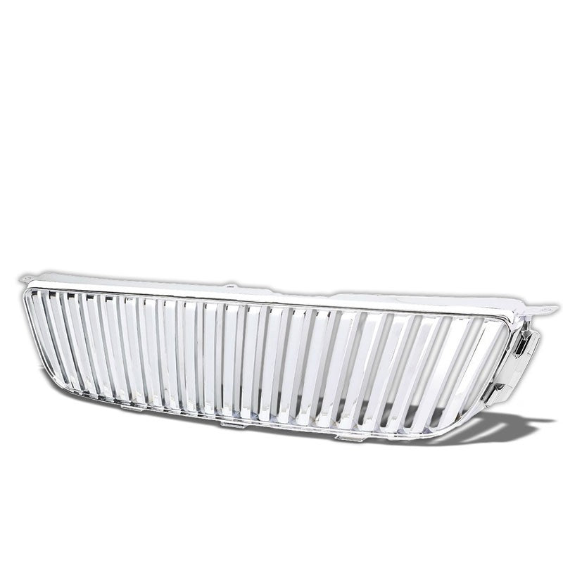 Chrome Vertical Style Replacement Front Grille For Lexus 01-05 IS300 3.0L DOHC-Exterior-BuildFastCar