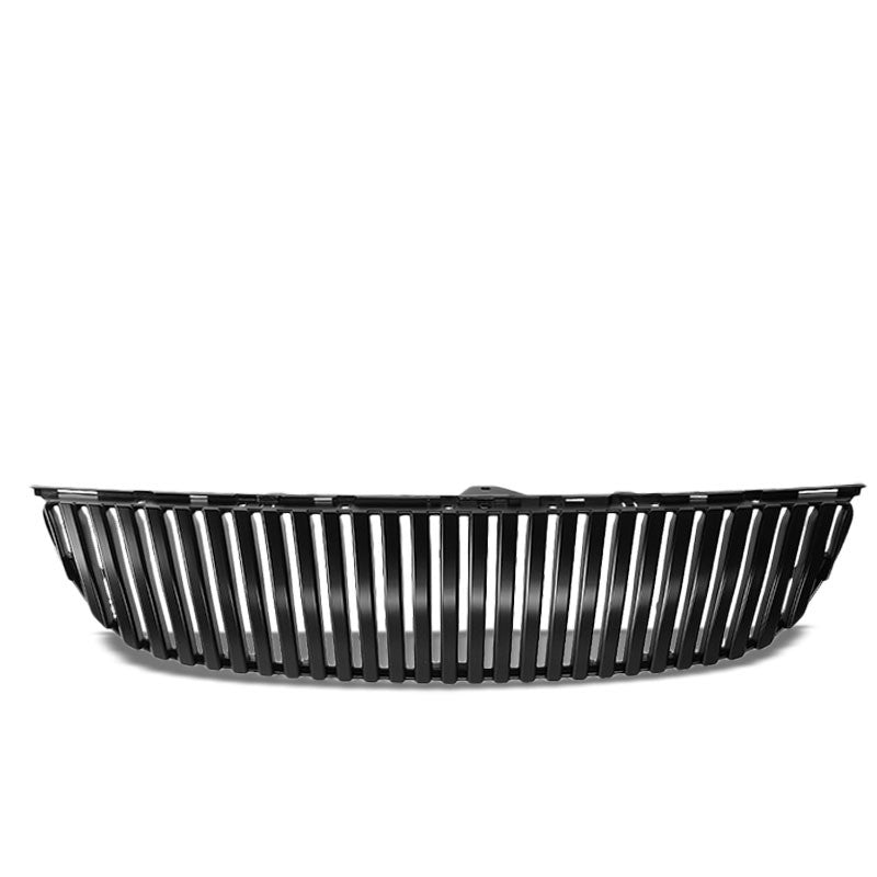 Black Vertical Style Replacement Front Grille For 06-07 Lexus GS430 Base 4.3L V8-Exterior-BuildFastCar