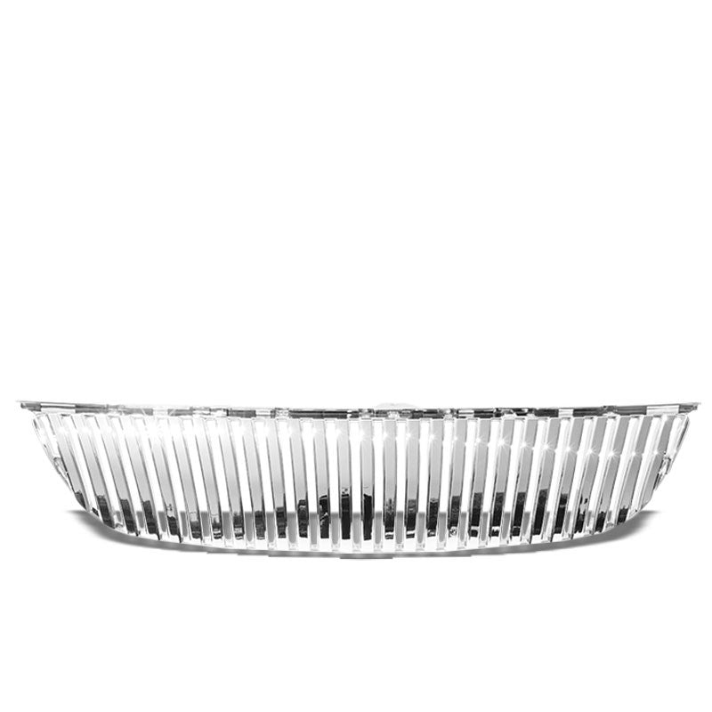 Chrome Vertical Style Replacement Front Grille For 06-07 Lexus GS430 Base 4.3L-Grilles-BuildFastCar
