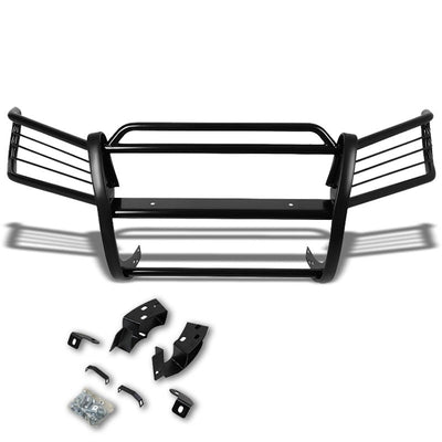 Black Mild Steel Front Bumper Grill Protection Guard For 01-07 Highlander XU20-Exterior-BuildFastCar