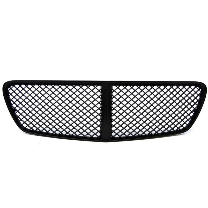 Black Diamond Mesh Style Front Grille For 11-14 Charger LX Sedan 3.6L/5.7L/6.4L-Exterior-BuildFastCar