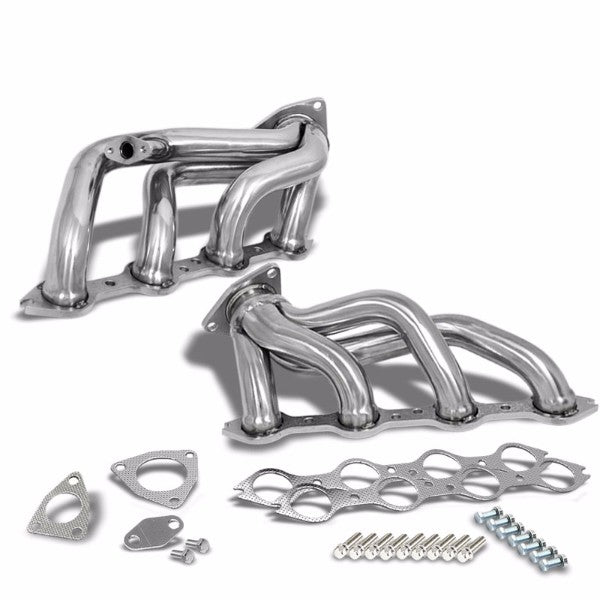Stainless Steel Exhaust Shorty Header Manifold For 00-03 Chevrolet Suburban 2500-Performance-BuildFastCar