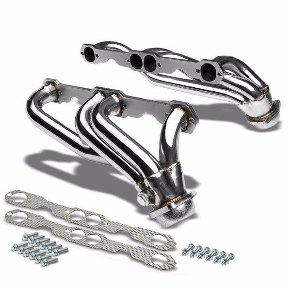 Stainless Steel Exhaust Header Manifold For 88-95 C1500/C2500/C3500/K1500-K3500-Performance-BuildFastCar
