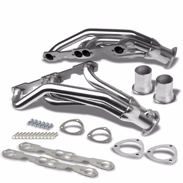 Stainless Steel Exhaust Header Manifold For 92-95 Chevrolet K1500/K2500 Suburban-Performance-BuildFastCar