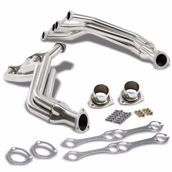 Stainless Steel Exhaust Header Manifold For Chevrolet Small Block 265-400 V8-Performance-BuildFastCar