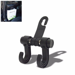 Black Universal Car Adjustable Windshield Suction Cup 360 Long Tablet Mount Holder+ Bag Hanger Hook-Accessories-BuildFastCar