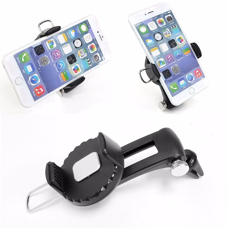Car/SUV 360 Adjust Air Vent Clamp On Mount Cradle Holder Stand For Mobile Phone-Accessories-BuildFastCar