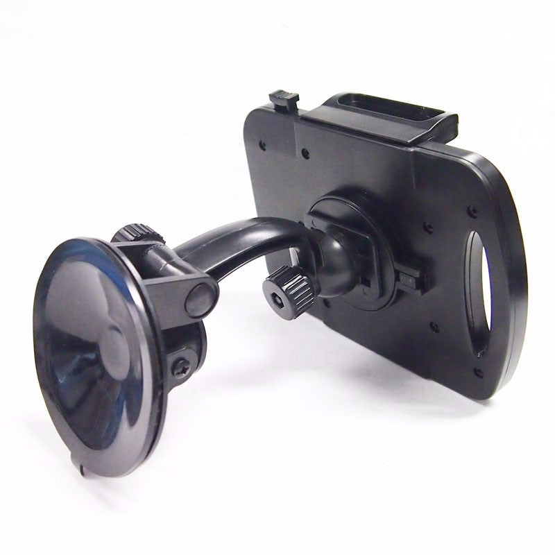 "Black Universal Car/Truck 3.5"" Suction Cup Windshield 360 Tablet Mount Holder Cradle-Accessories-BuildFastCar"