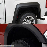 "M.Black ABS OE Style Wheel Fender Flare Guard For 02-08 Ram 1500 78""-97.9"" Bed-Exterior-BuildFastCar"