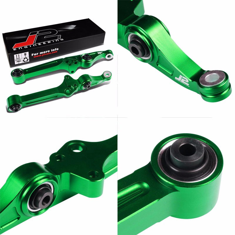 J2 Green Front Bearing Lower Control Arm Bar Suspension For Civic/CRX EE ED/DA9-Suspension-BuildFastCar
