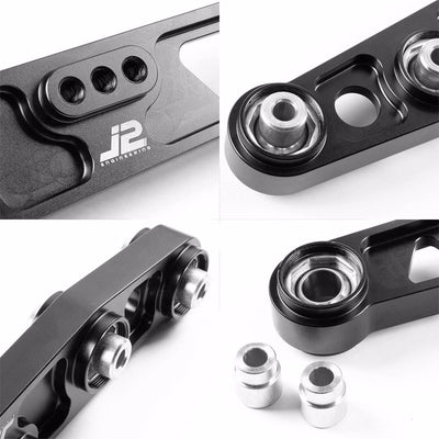 J2 Black Spherical Bushing Rear Lower Suspension Control Arm for Civic/Integra