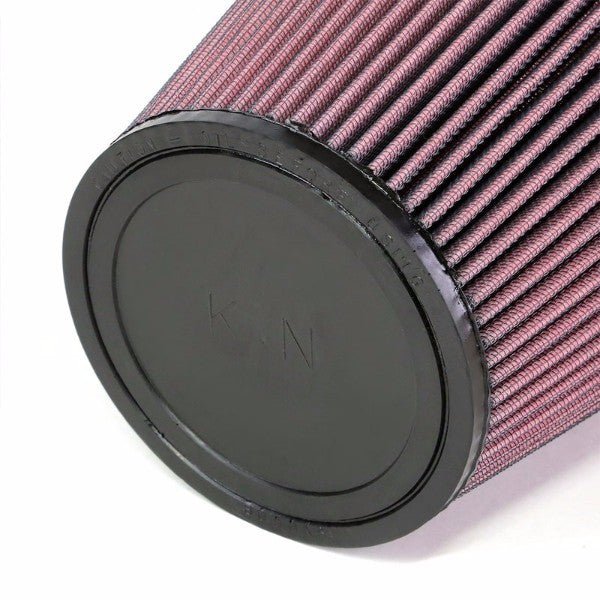 "K&N 6"" 153mm Universal Rubber Cotton Gauze Cone Round Tapered Air Filter RU-3050-Performance-BuildFastCar"