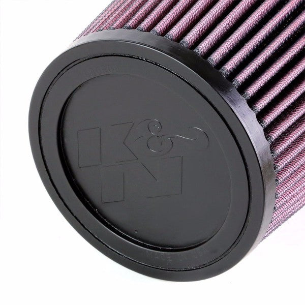 "K&N 3"" 76 mm Universal Rubber Cotton Gauze Cone Round Tapered Air Filter RU-4730-Performance-BuildFastCar"