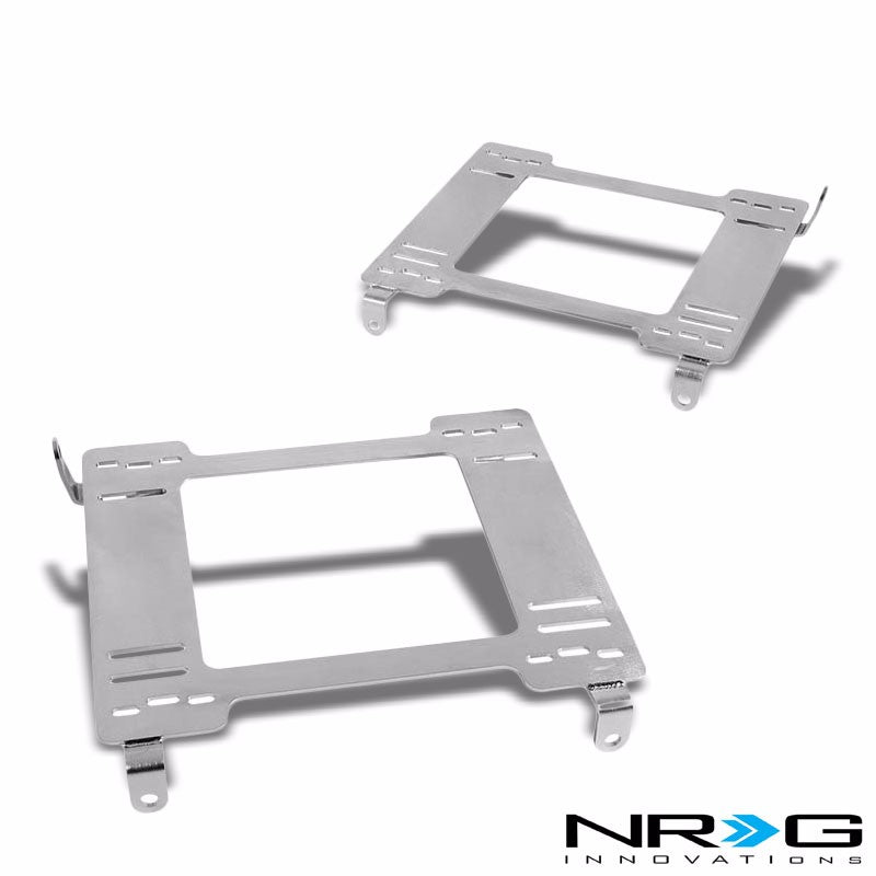 2x NRG Mild Steel Racing Seat Mount Bracket Adapter For Dodge 94-05 Neon-Seats-BuildFastCar
