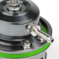 "Green Type-FV 30 PSI Blow Off Valve+Silver 9.5"" Straight/Dual Port Flange Pipe-Performance-BuildFastCar"