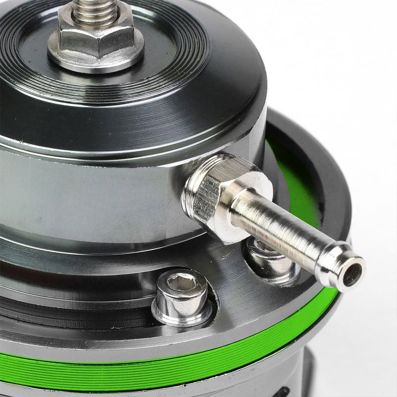 "Green Type-FV Adjustable 30 PSI Blow Off Valve BOV+Red 6"" Straight Flange Pipe-Performance-BuildFastCar"