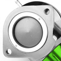 "Green Type-FV Adjustable 30 PSI Blow Off Valve BOV+Red 8"" 80 Degree Flange Pipe-Performance-BuildFastCar"
