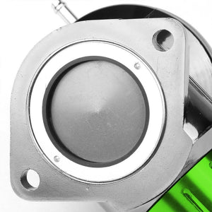 "Green Type-FV 30 PSI Blow Off Valve BOV+Red 9.5"" Straight/Dual Port Flange Pipe-Performance-BuildFastCar"