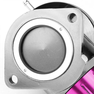 "Purple Type-FV 30 PSI Blow Off Valve+Silver 8"" 70 Degree/Dual Port Flange Pipe-Performance-BuildFastCar"