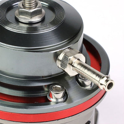 "Red Type-FV 30 PSI Blow Off Valve BOV+Red 8"" 70 Degree/Dual Port Flange Pipe-Performance-BuildFastCar"