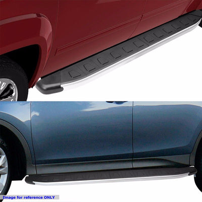 "Silver Aluminum Flat 5.75"" Wide Step Running Board For 10-17 Toyota 4Runner N280-Running Boards/Steps-BuildFastCar"