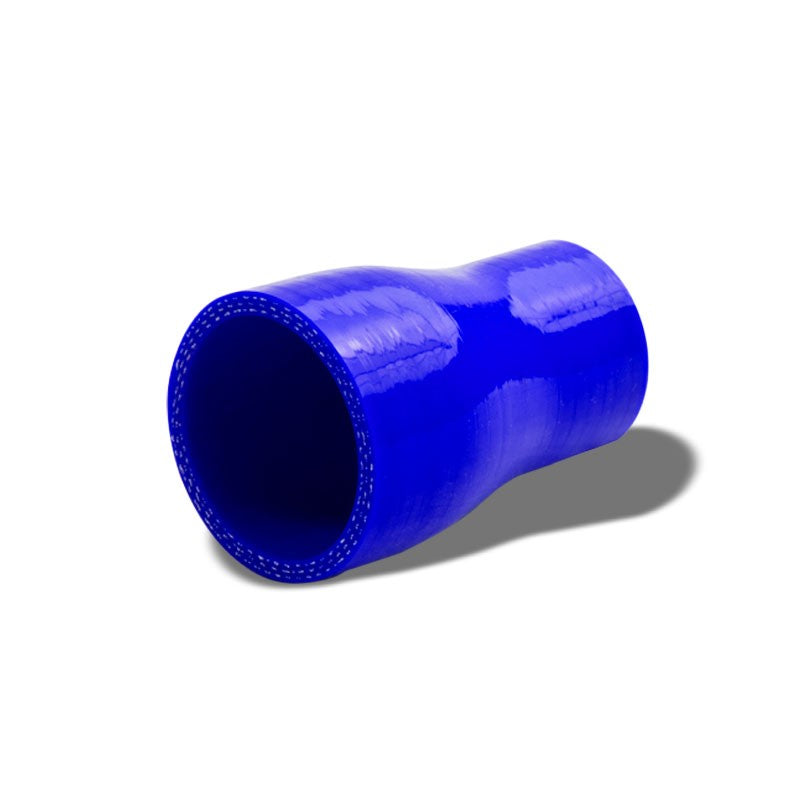 "Blue 4-Ply Nylon Silicone 1.50""-1.75"" Reducer Hose For Turbo/Intake/Intercooler-Performance-BuildFastCar"