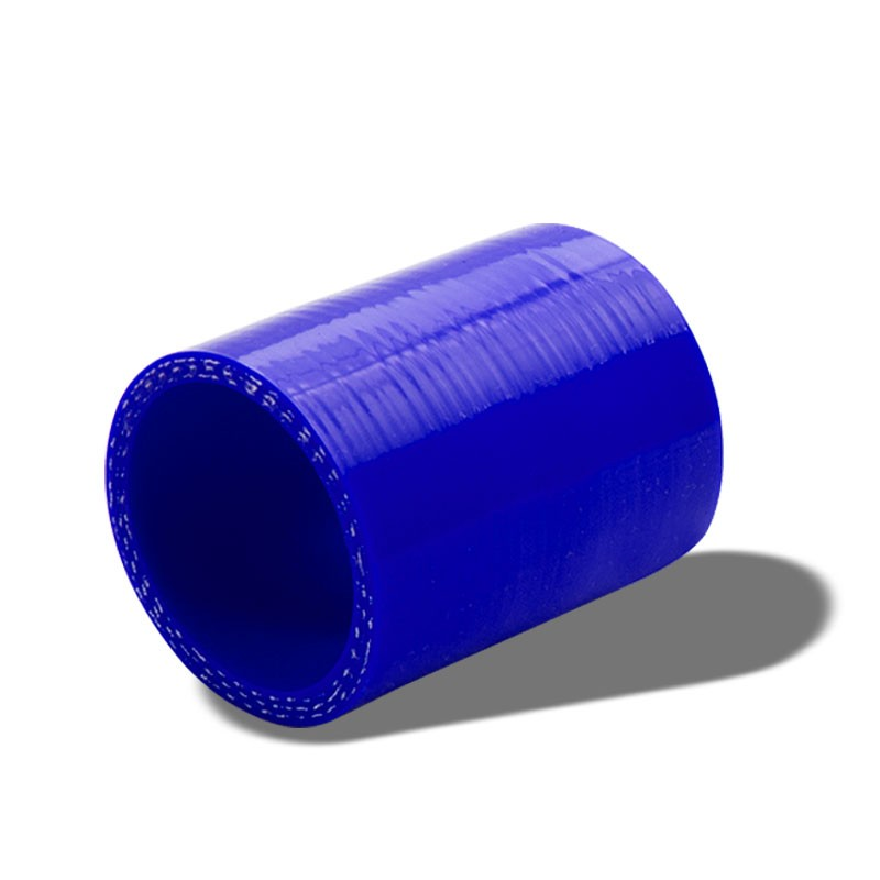 """3/"""" Silicone Intercooler Pipe Straight Coupler BLUE T-Bolt Clamp For Infiniti"""
